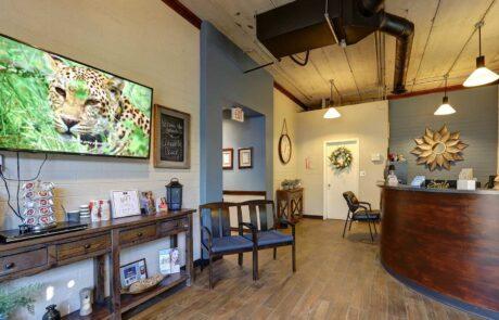 lobby dental office